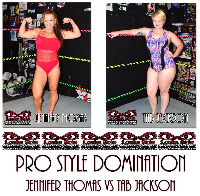 1638-Pro Style Domination - Jennifer vs Tab