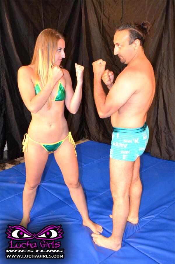 1639-Stay Between My Legs - Mixed Femdom Scissor Wrestling