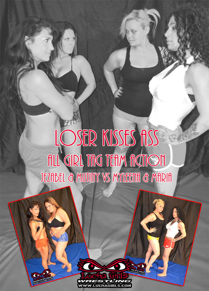 1648 – Losers Kiss Ass! – All Girl Tag Team Action