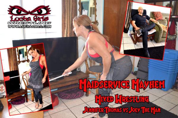 1709-Maidservice Mayhem – Mixed Wrestling