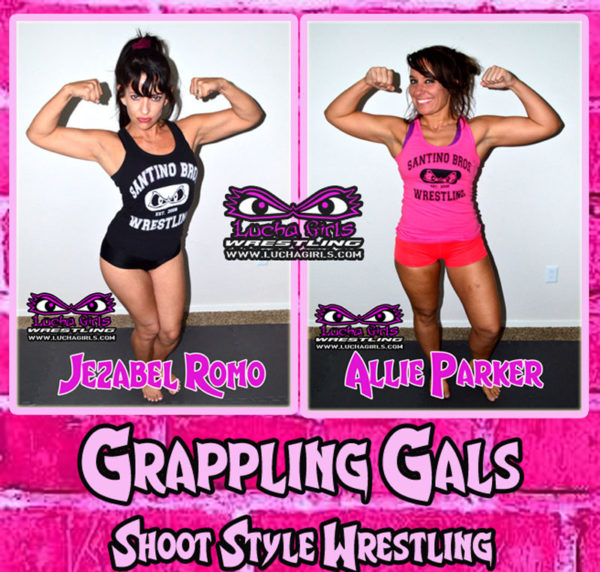 1710-Grappling Gals – Shoot Style Wrestling