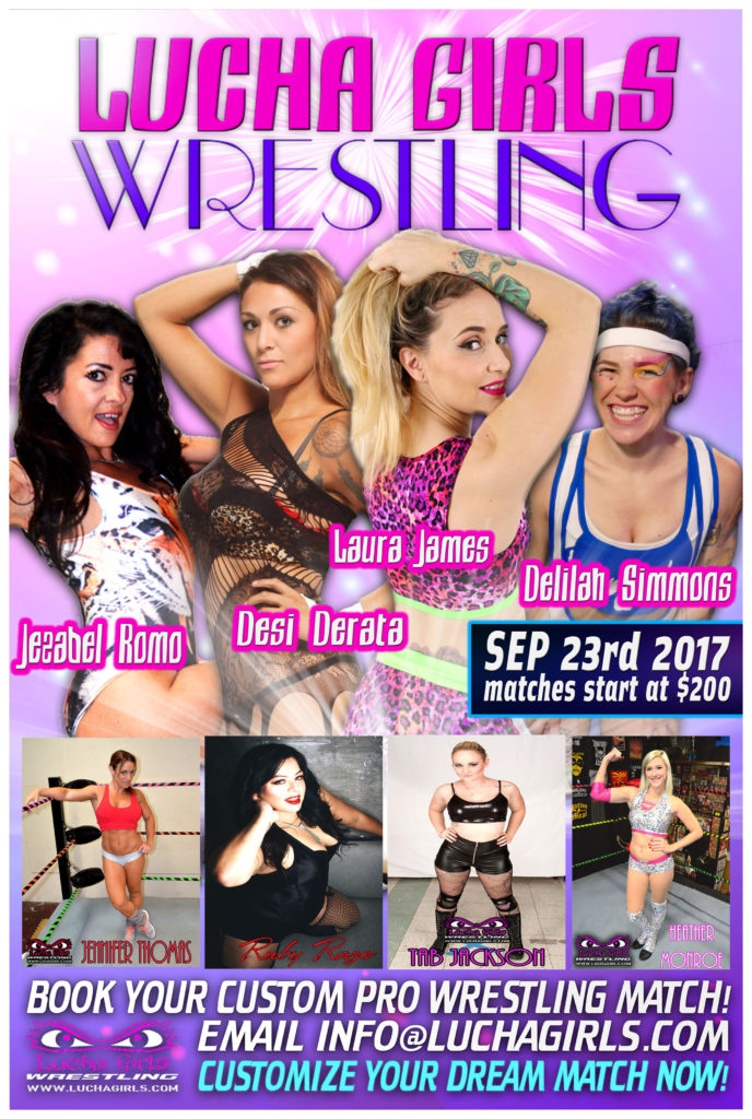 Let Lucha Girls Fight For You – Sept 23, 2017