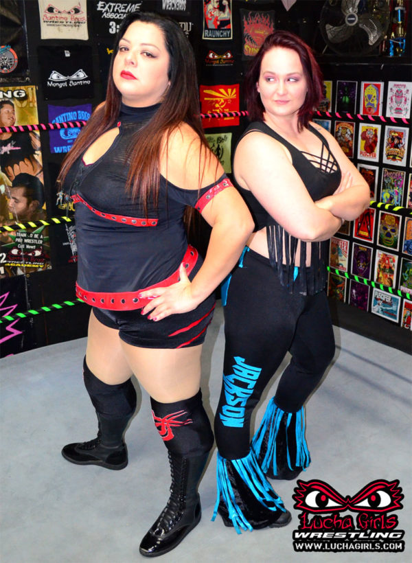 1712-Voluptuous Vixens ~ Ruby vs Tab ~ Female Pro Wrestling