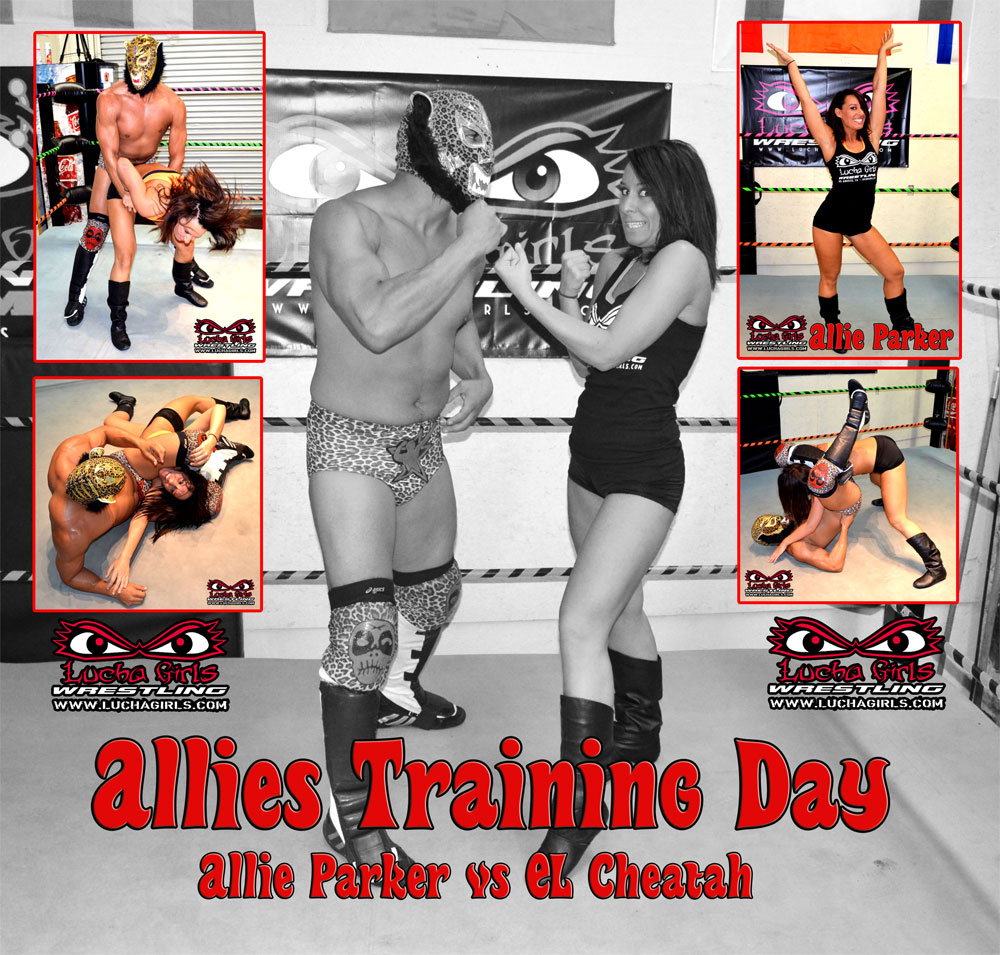 1598-Allies Training Day – Mixed Wrestling