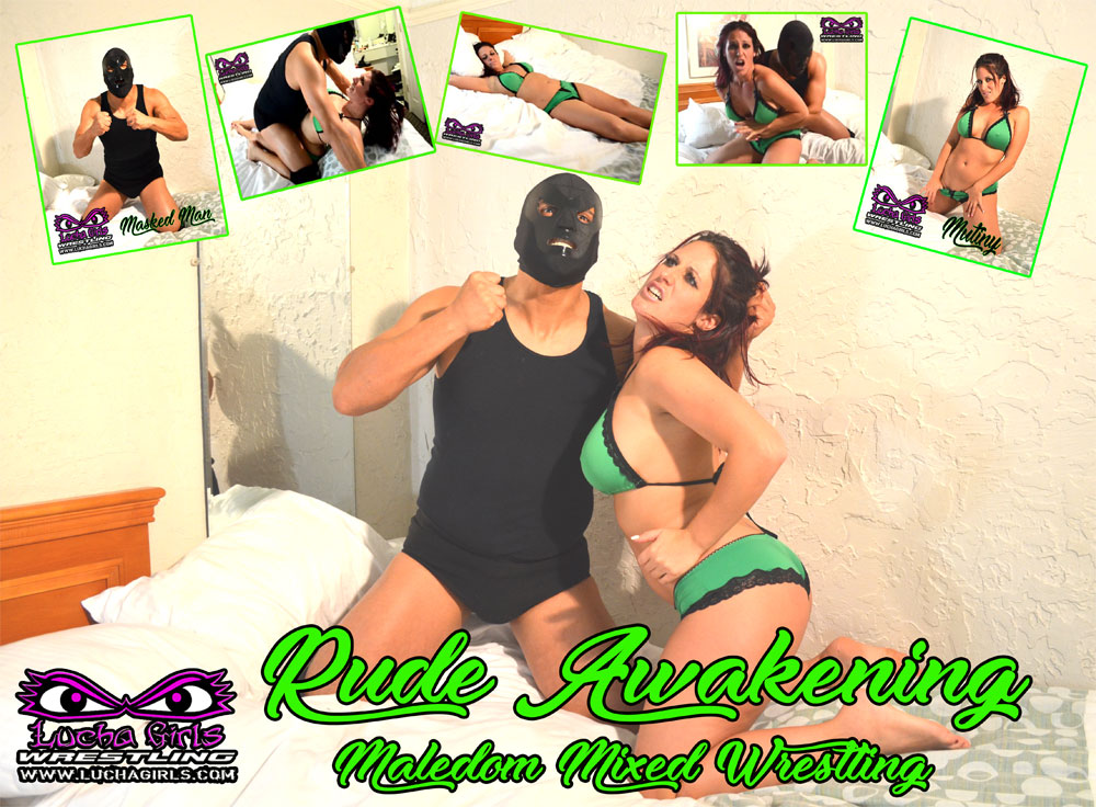 1589-Rude Awakening - Maledom Mixed Wrestling
