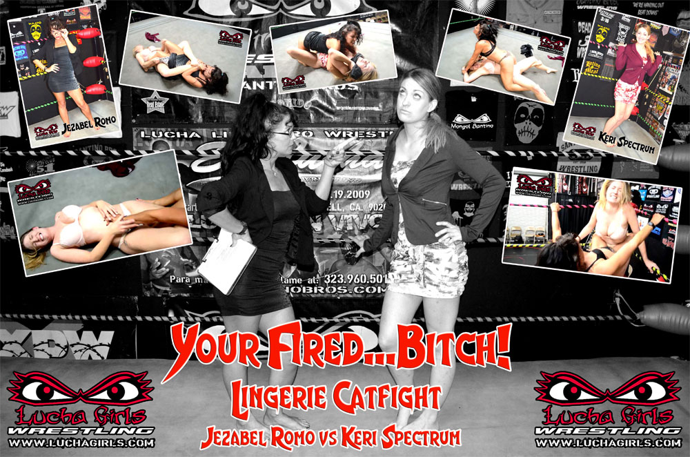 1587-Your Fired…Bitch! ~ Lingerie Catfight