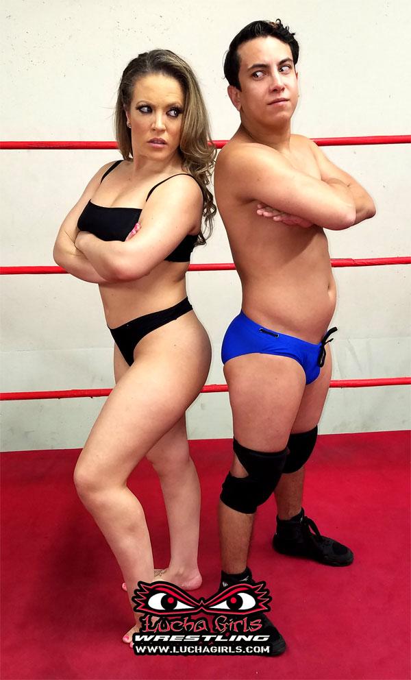 Fantasy mixed wrestling